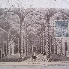 Sellos: TARJETA POSTAL PRIMER DIA Nº02017 INTERIOR DE LA LONJA A VALENCIA 1965. Lote 9999743