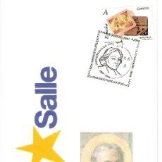Sellos: MATASELLO ESPECIAL TARJETA EXPOSICIÓN FILATÉLICA, DIJOUS BO, INCA ( MALLORCA ) 2008 . Lote 10100890