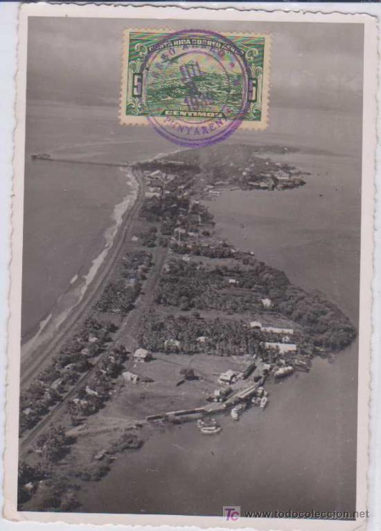 TARJETA MÁXIMA : PUNTARENAS - COSTA RICA. 1939 (Sellos - Extranjero - Tarjetas Máximas)