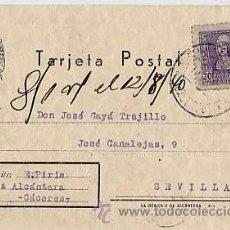 Sellos: TARJETA POSTAL COMERCIAL CIRCULADA DESDE VALENCIA DE ALCANTARA, CACERES EN 1940. Lote 11179972