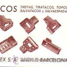 Sellos: TARJETA COMERCIAL DE MATEX,SA DE BARCELONA -TEXTIL-CIRCULADA . Lote 12455926