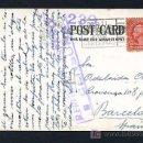 Sellos: TP CIRCULADA NEW YORK A BARCELONA, AGOSTO 1937. TAMPON *REPUBLICA ESPAÑOLA - CENSURA*. Lote 12883321