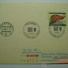 Sellos: 9852 AJEDREZ CHESS CHECOESLOVAQUIA - AÑO 1973 - MIRA MAS DE ESTE TEMA EN MI TIENDA C&C. Lote 14305712