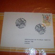 Sellos: TARJETA POSTAL XXII EXPOSICIÓN FILATÉLICA, FIGUERES A 1 DE MAYO DE 1982. Lote 17154460