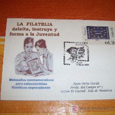Francobolli: MATASELLO ESPECIAL EXPOSICIÓN FILATÉLICA , CUENCA A 31 DE MARZO DE 2005. Lote 17373479