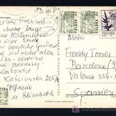 Sellos: POLONIA. TP CIRCULADA 1982.. Lote 17605159