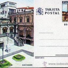 Sellos: TARJETA POSTAL DE CORREOS-SANTANDER. Lote 21342009