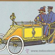 Sellos: TARJETA POSTAL DE UN COCHE DE CORREOS EN BERLIN HACIA 1900. Lote 22390001