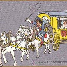 Sellos: TARJETA POSTAL DE UNA DILIGENCIA MIXTA DE CORREOS DE ALEMANIA HACIA 1700. Lote 22390078