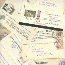 Sellos: LOTE DE 84 FACTURAS COMERCIALES.AÑOS 1950.. Lote 26536871