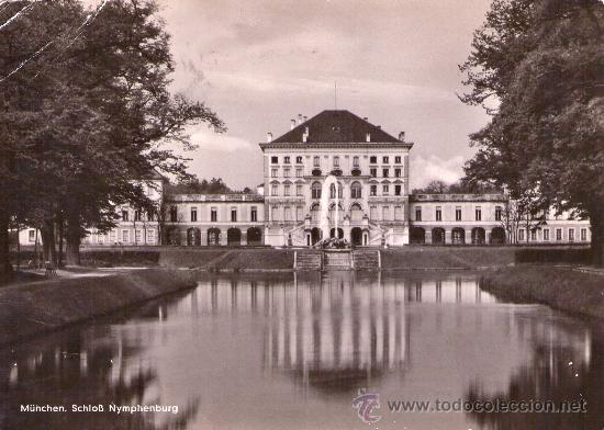 Sellos: 974- TARJETA CON MATASELLOS CONMEMORATIVO MUNICH 1953 - Foto 2 - 27276625