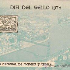 Sellos: DIA DEL SELLO 1978. Lote 26798850
