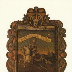 Sellos: POSTAL DEL MUSEO DEL CORREO DE ALEMANIA EN FRANKFURT, CARTEL DEL CORREO DANÉS EN 1770 . Lote 30539668