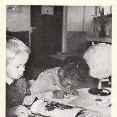 Sellos: FRANCIA SERVICIO UNESCO IVERT 378, CAMPAÑA PARA LA ALFABETIZACIÓN, TARJETA MÁXIMA DE 17-12-1966. Lote 30681570