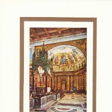 Sellos: VATICANO IVERT 470, TABERNACULO DE ARNOLFO DI CAMBIO EN SAN PABLO DE ROMA, TARJETA MAXIMA 15-7-1967. Lote 114869131
