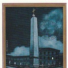 Sellos: VATICANO IVERT AEREO 37, BASILICA DE SAN PEDRO, MÁXIMA DE 27-10-1959. Lote 31354457