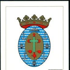 Sellos: POSTAL – ESCUDO DE SANTA CRUZ DE TENERIFE 1965. Lote 65002681