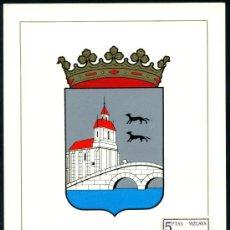 Sellos: POSTAL – ESCUDO DE BILBAO 1965. Lote 65002606