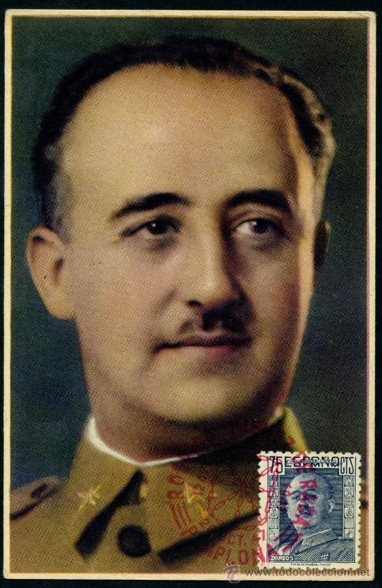 POSTAL - FRANCO 1947 (Sellos - España - Tarjetas)