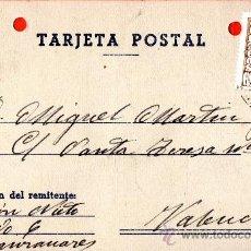 Sellos: TARJETA POSTAL RAMON NIETO MANZANARES. Lote 33569520