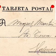 Sellos: TARJETA POSTAL MAXIMO RODRIGUEZ PUENTE DE VALLECAS . Lote 33569543