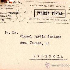 Sellos: TARJETA POSTAL IGNACIO FONT S.A. . Lote 33569727