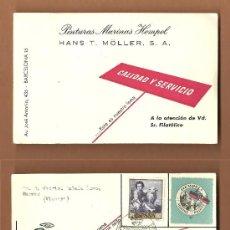 Sellos: XXVIII FERIA OFICIAL E INTERNACIONAL DE MUESTRAS EN BARCELONA 1-20 JUNIO 1960 . Lote 36344024