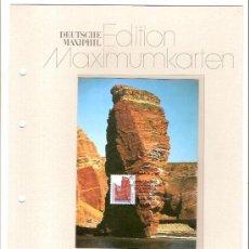 Sellos: DEUTSCHE MAXIMUMKARTEN HELGOLAND MAXIMA ALEMANIA 1990. Lote 36385724