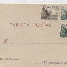 Sellos: TARJETA POSTAL. FRANQUEADA CON 1 SELLO DE 5 Y 2 DE 15 CTS.. Lote 36520499