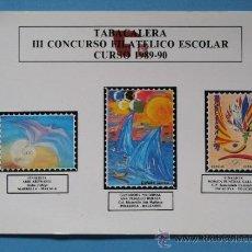 Sellos: POSTAL. TARJETA DE CORREOS TABACALERA. CONCURSO FILATÉLICO. OLIMPIADAS BARCELONA 1992. 74 . Lote 36526717