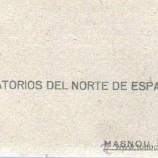 Sellos: TARJETA DE LABORATORIOS DEL NORTE DE ESPAÑA SA MASNOU BARCELONA 1943. Lote 37393092