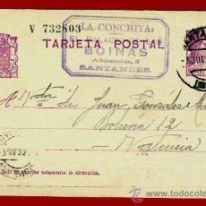 Sellos: TARJETA POSTAL, REPUBLICA , SANTANDER 1934 , ORIGINAL , B6. Lote 38817110