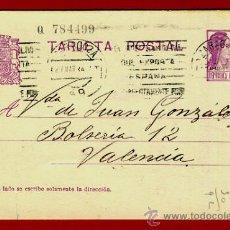 Sellos: TARJETA POSTAL, REPUBLICA , ZARAGOZA , 1934 , ORIGINAL , B10. Lote 38817215