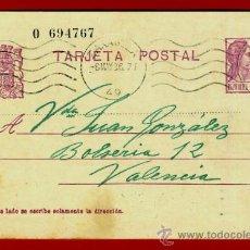 Sellos: TARJETA POSTAL, REPUBLICA , ZARAGOZA , 1936 , ORIGINAL , B12. Lote 38819331