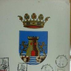 Sellos: TARJETA CON MATASELLO. CHICLANA, CADIZ. 1992. EXFILANDALUS´92. . Lote 39901268