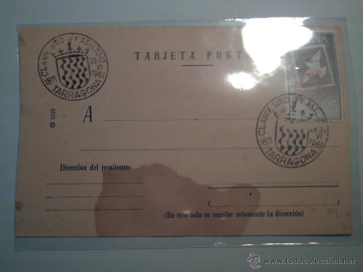 CUÑO FRANQUEO 1811/1961- 150 ANIVERSARIO SITIO Y ASALTO DE TARRAGONA- GUERRA INDEPENDENCIA (Sellos - Extranjero - Tarjetas)