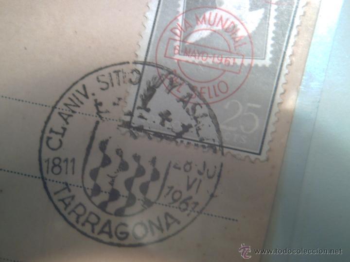 Sellos: CUÑO FRANQUEO 1811/1961- 150 ANIVERSARIO SITIO Y ASALTO DE TARRAGONA- GUERRA INDEPENDENCIA - Foto 3 - 40170857