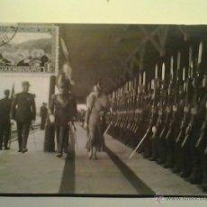 Sellos: TARJETA POSTAL 1919 - LUXEMBURGO - CARLOTA (GRAN DUQUESA DE LUXEMBURGO) - PASAR REVISTA AL EJERCITO. Lote 40428165