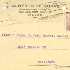 Sellos: TARJETA POSTAL CIRCULADA MADRID-SALAMANCA - 1946. Lote 40466818