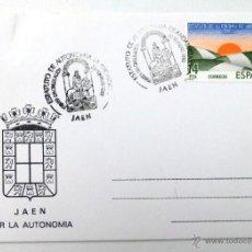 Sellos: TARJETA POSTAL ESTATUTO DE AUTONOMIA DE ANDALUCIA. JAEN 1983.. Lote 40470969