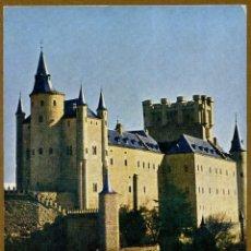 Sellos: POSTAL SERIE TURISTICA - EL ALCAZAR SEGOVIA. Lote 40599691