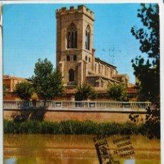 Sellos: TARJETA PALENCIA. TORRE DE SAN MIGUEL.EXPOSICION DE FILATELIA TEMATICA 1990.. Lote 40603322