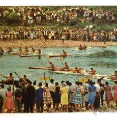 Selos: POSTAL CIRCULADA DIA DE LAS PIRAGUAS, COSTA VERDE. DESCENSO DEL SELLA. MATASELLO RIBADESELLA 1968.. Lote 41100513