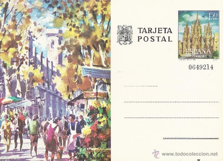 TARJETA POSTAL (Sellos - España - Tarjetas)