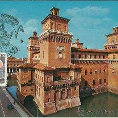 Sellos: TARJETA MAXIMA. ITALIA. FERRARA. 1999. CASTELLO ESTENSE. Lote 41990471