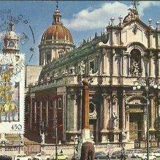 Sellos: TARJETA MÁXIMA. ITALIA. 1986. CATANIA. LE CANDELORE. Lote 41991329