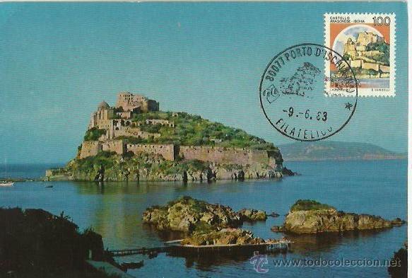 TARJETA MÁXIMA. ITALIA. 1983. PORTO D´ISCHIA. FILATELICO. (Sellos - Extranjero - Tarjetas Máximas)