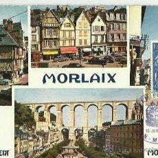Sellos: TARJETA MÁXIMA. FRANCIA. MORLAIX. 1967. PRIMER DIA. LA BRETAGNE EN COULEURS.. Lote 42306959