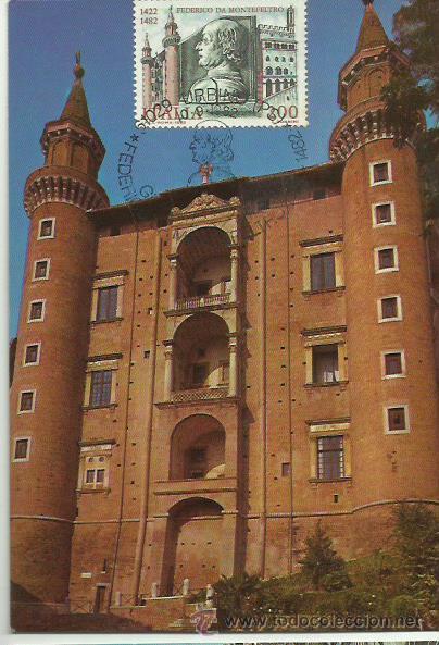 TARJETA MÁXIMA. ITALIA. 1982. PALACIO DUCAL EN URBINO. (Sellos - Extranjero - Tarjetas Máximas)