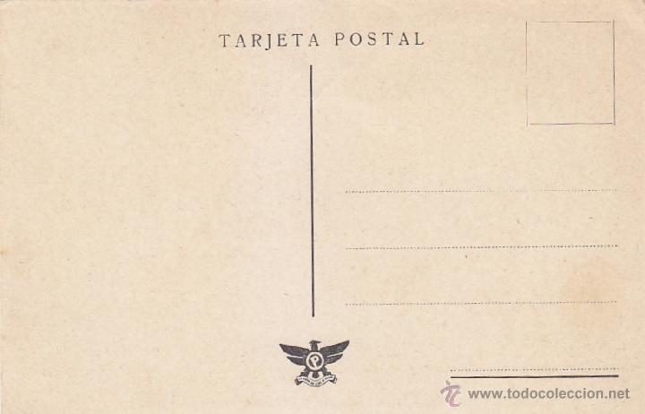 Sellos: GENERAL FRANCO BONITA Y RARA TARJETA PATRIOTICA ED. P LA VERDAD NO TEME NI OFENDE. MPM. - Foto 2 - 21908980